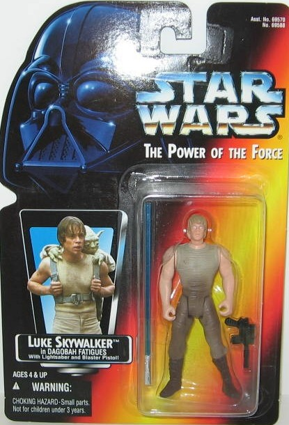 Luke Skywalker in Dagobah Fatigues